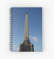 Monument on One Tree Hill Spiral Notebook