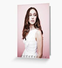 alycia debnam-carey Greeting Card