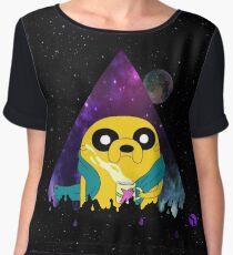 Jake Adventure time - galaxy Chiffon Top