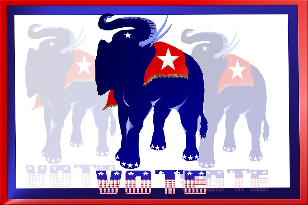 Poster Vote Republican by Lotacats