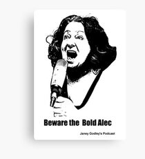 Janey: The Bold Alec Canvas Print