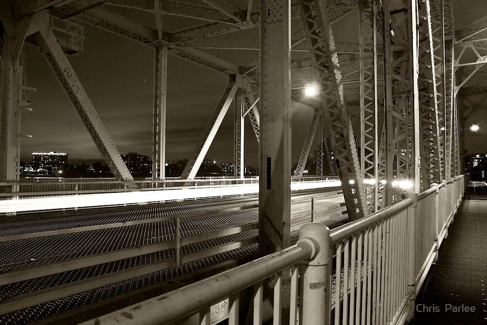 Johnson Street Bridge by Chris  Parlee