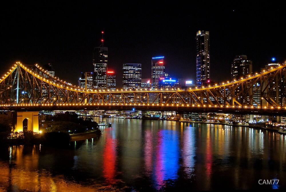 Brisbane City and Story Bridge by CAM77