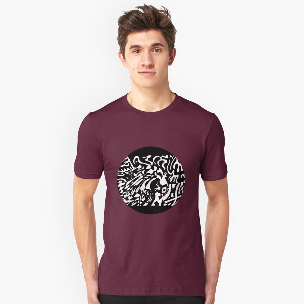 Robot Dreams Circle Unisex T-Shirt Front