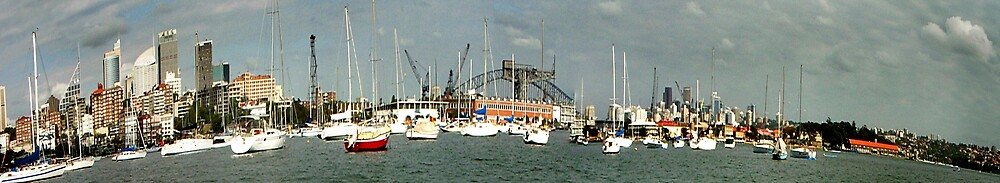 Rushcutter's Bay Panorama, Sydney by Craig Mitchell