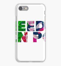 I need a Den Pop - Tropical iPhone Case/Skin