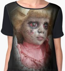 Creepy doll, Lace Chiffon Top