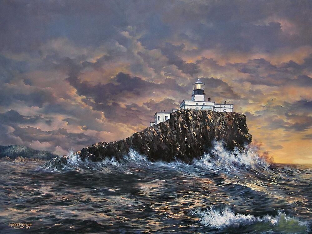 Tillamook Rock Light by Lynne Wright