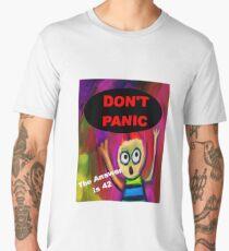 Don't Panic - The Answer is 42 Men's Premium T-Shirt