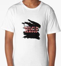 Wake Me Up When I'm Famous - black/rose Long T-Shirt