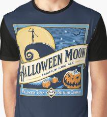 Halloween Moon Graphic T-Shirt