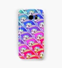 "Maid dragon ""Kanna umbrella rainbow"" design Samsung Galaxy Case/Skin"