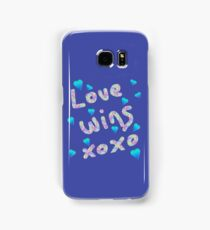 Love Wins Samsung Galaxy Case/Skin