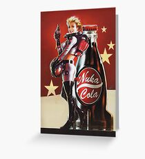 Nuka-Cola (2) Greeting Card