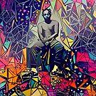 Abstract Kendrick Lamar by stilldan97
