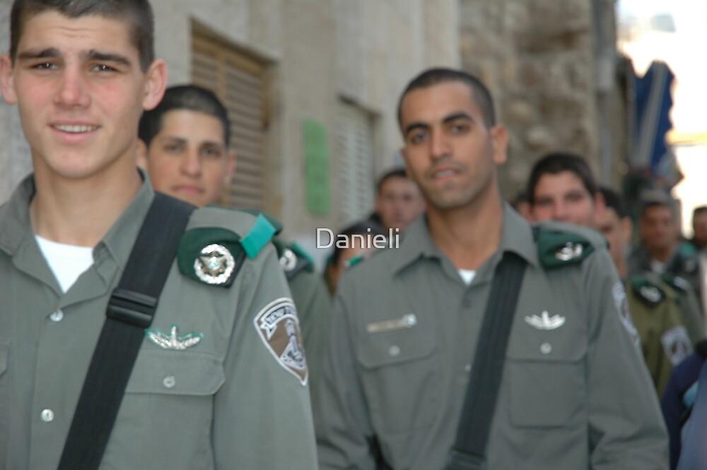 Israeli Soldiers by Danieli