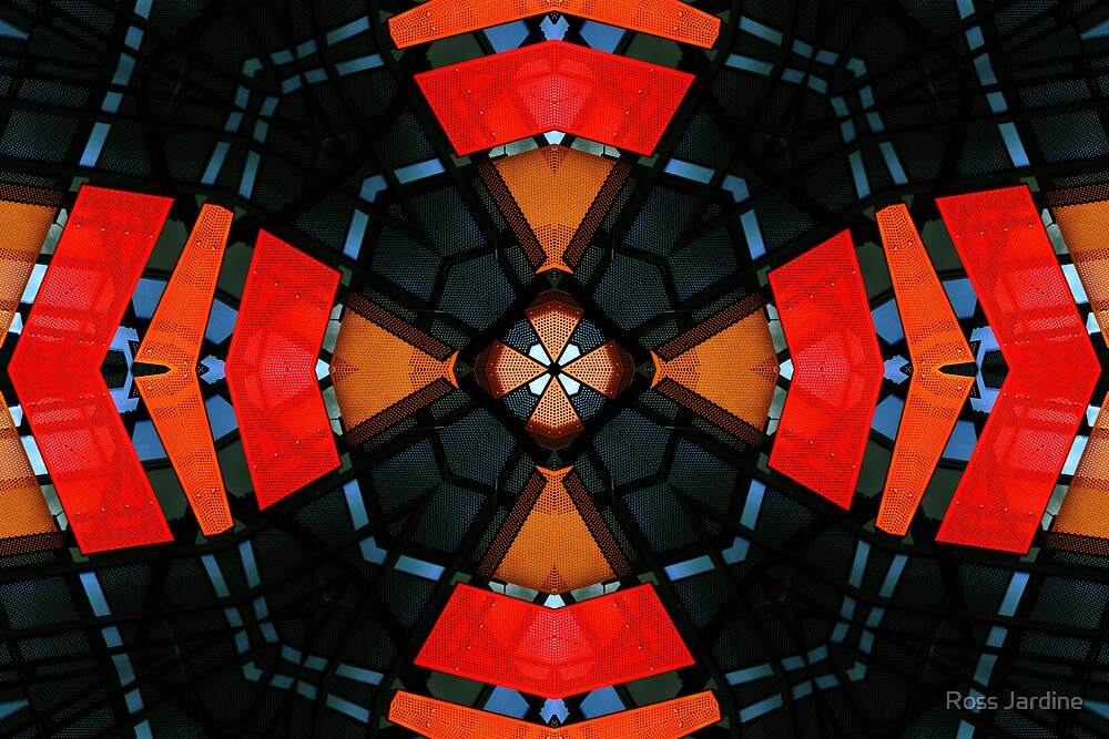 Red Abstract by Ross Jardine