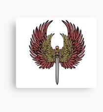 wing sword Canvas Print