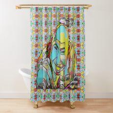Portrait of a Sideshow Performer - Schlitzie Shower Curtain