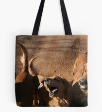Rock Talking Dog Days Tote Bag