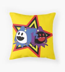 Frost vs Frost Throw Pillow
