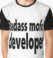 Badass mofo developer Graphic T-Shirt