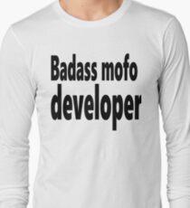 Badass mofo developer Long Sleeve T-Shirt