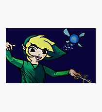 Water -colored  Windwaker Link Photographic Print