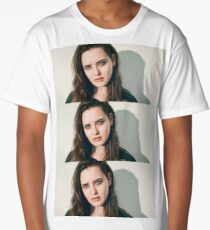 katherine langford Long T-Shirt