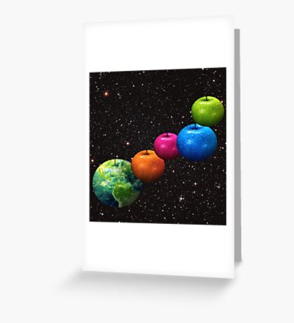 Apple system Greeting Card