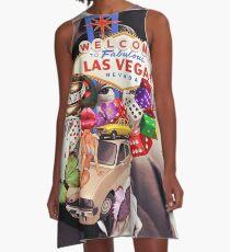 Las Vegas addicted A-Line Dress