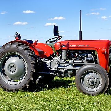 Massey Ferguson 35 Tractor by AndyHkr