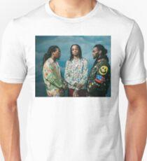 Migos - Quavo , Takeoff , Offset Unisex T-Shirt