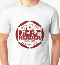 Star Wars inspired Galactic Nerf Herder Union Local #327 Unisex T-Shirt