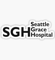 Seattle Grace Hospital Sticker