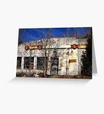 The Garage Greeting Card