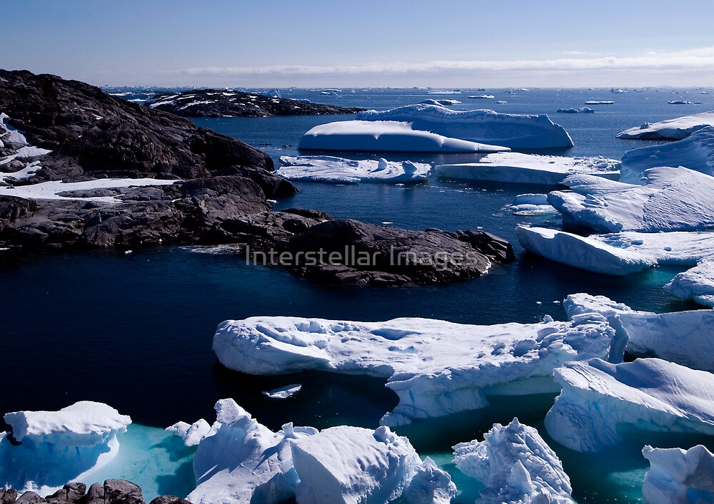 Ice and Seascape by Interstellar Images