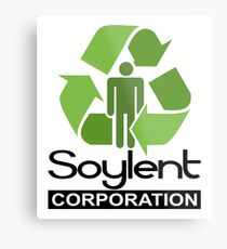 Soylent Corporation Metal Print