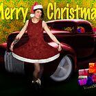 Miz Santa's Hot Rod Christmas by ChasSinklier