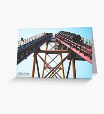 ROLLERCOASTER Greeting Card