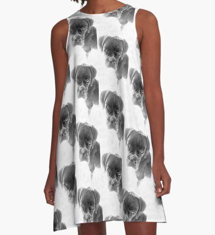 Sie sagen mir, dass ich nicht länger ein Welpe bin - Boxer Dogs Series A-Linien Kleid