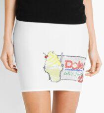 Dole Whip Float (DISTRESSED) Mini Skirt