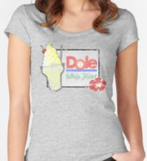 Dole Whip Float (DISTRESSED) Women's Fitted Scoop T-Shirt
