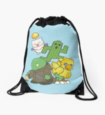 Team Final Fantasy Drawstring Bag