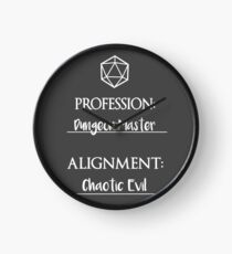 Reloj Dungeon masters are chaotic evil