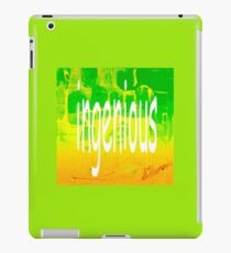 ingenious iPad Case/Skin