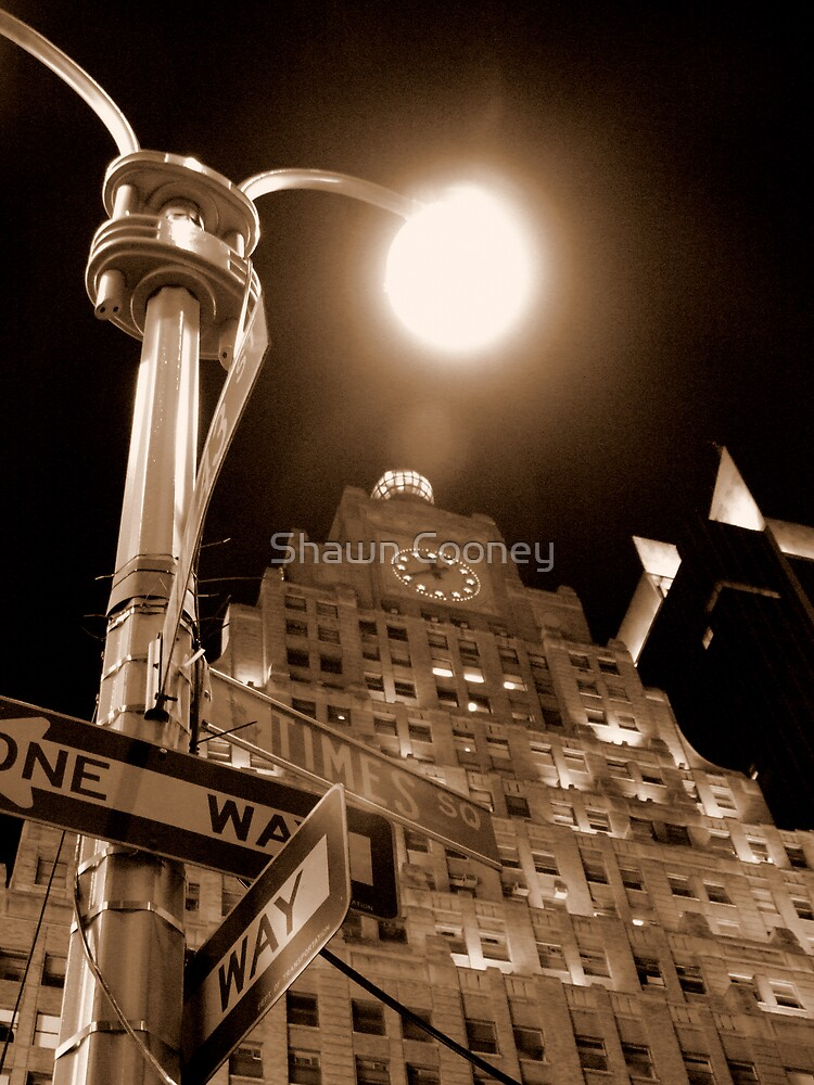 New York Night - Just Getting Started by Shawn Cooney