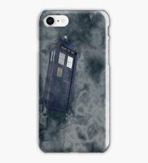 Tardis Snow Storm iPhone Case/Skin