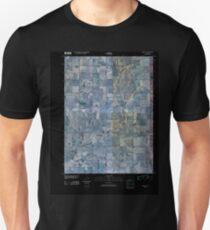 USGS TOPO Map Iowa IA Prescott 20100422 TM Inverted T-Shirt