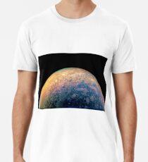 Juno Polar View of Planet Jupiter Generative Painting Premium T-Shirt